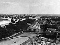 Манежная площадь. 1960-е годы.