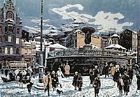 Лубянская площадь в 20-е годы ХХ века