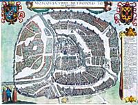 План Москвы 1610 г