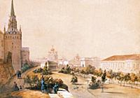 Александровский сад у Кремлевских стен