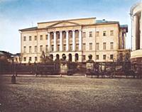 Новое здание Московского университета