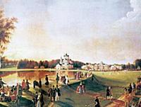 Прогулка в Останкине. Начало XIX века