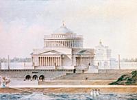 Проект Храма Христа Спасителя архитектора Витберга