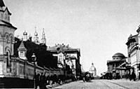Вид улицы Воздвиженки