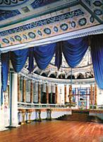 Интерьер крепостного театра дворца в Останкино