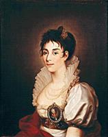 Портрет крепостной актрисы П. И. Жемчуговой