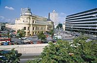 Вид на гостиницу Прага и Новый Арбат