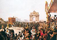 Торжественный въезд в Москву императора Александра