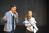 Дмитрий Дюжев, Екатерина Гусева. Церемония вручени