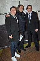 Гия Гагуа, Александр Иншаков, Алан Диамбеков. Цере