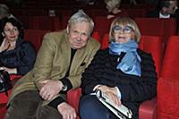 Василий Мищенко, Алла Сурикова. Церемония вручения