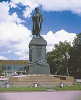 Памятник А.С.Пушкина. Москва, Россия.