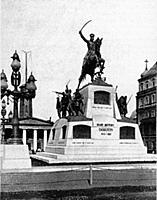 Памятник генералу М.Д.Скобелеву. Москва, Россия.