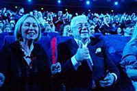 Владимир Винокур с супругой. Юбилейный концерт Ста