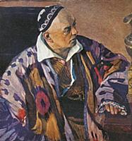Портрет Архитектора А.Щусева. Худ. М.Нестеров