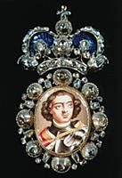 Нагрудный знак с портретом Петра I