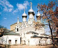 Церковь Николы в Пыжах. Москва.