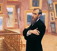 Портрет П.М.Третьякова. Худ. И.Репин