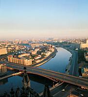 Москва-река у Котельнической набережной