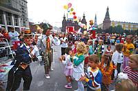 На празднике День города