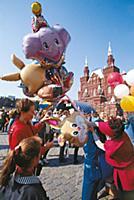 День города. Гуляния в центре Москвы