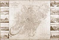 План Москвы. 1827 г.