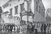 Коронация императрицы Екатерины II в Московском Кр