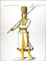 Рынд времен Бориса Годунова. XVI век