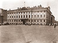 Здание Моссовета. 1920-е годы. Москва.