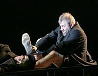 Спектакль «Бег». МХТ имени Чехова. Москва, Россия.