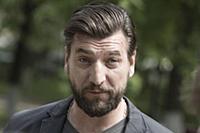 Александр Устюгов. Съемки сериала «Рикошет» в Звен