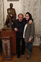 Владимир Стеклов с дочерью Глафирой. Первая Булгак