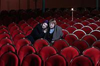 Татьяна Орлова (справа). Пресс-показ спектакля «Мо