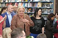 Людмила Полякова. Презентация книги народной артис