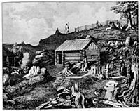 Одно из первых поселений русских на Аляске. Конец