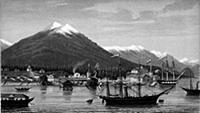 Русская крепость Новоархангельск на Аляске. Начало