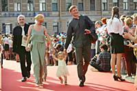 Сергей Сафронов с семьей. Кинофестиваль «Виват кин