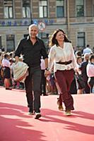 Михаил Калинин с супругой. Кинофестиваль «Виват ки