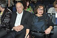 Александр Прошкин с супругой. Кинофестиваль «Виват