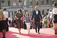 Владимир Литвинов с семьей. Кинофестиваль «Виват к