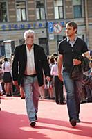 Юрий Шайгарданов с сыном. Кинофестиваль «Виват кин