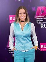 Полина Гренц. Вручение музыкальной премии телекана