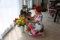 Актриса Оксана Сташенко.