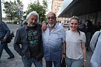 Стас Намин, Давид Шнейдеров с дочерью. Гарик Сукач