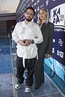 Стас Михайлов с супругой. Пре-пати Международного