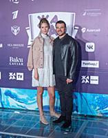 Эмин Агаларов с супруой. Пре-пати Международного м