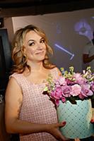 Елена Кипер. Открытие голографической выставки «ФА