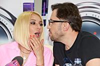 Лера Кудрявцева, Александр Ревва. Пресс-конференци