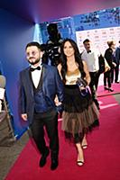 Михаил Галустян с супругой. Премия «МУЗ-ТВ 2019. М