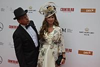Константин Андрикопулос с супругой. Скачки «Гран-п